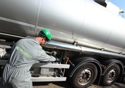 ADR Tanker – Vacuum Pump
